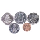 Багамские Острова. Набор монет 2005-2015 гг.