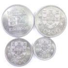 Португалия. Набор монет 1973-1983 гг.