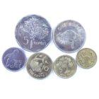 Сейшельские Острова. Набор монет 2004-2012 гг.