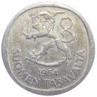 Финляндия. 1 марка 1964 г.