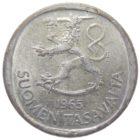Финляндия. 1 марка 1965 г.