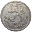 Финляндия. 1 марка 1966 г.