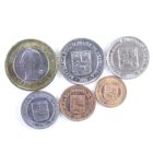 Венесуэла. Набор монет 2009-2012 гг.