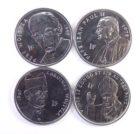 Республика Конго. Набор монет 2004 г. «Папа Римский»