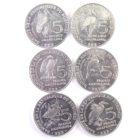 Бурунди. Набор монет 2014 г. «Птицы»