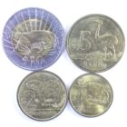 Уругвай. Набор монет 2011-2012 гг.