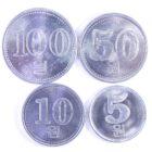 Северная Корея. Набор монет 2005 г.