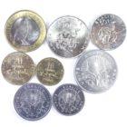 Джибути. Набор монет 1991-2013 гг.