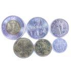 Эфиопия. Набор монет