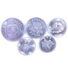 Северная Корея. набор монет 2002-2008 гг.