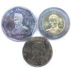 Доминиканская Республика. Набор монет 2008-2010 гг.