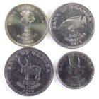 Уганда.Набор монет 2008-2012 гг.