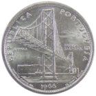 Португалия. 20 эскудо 1966 г. «Открытие моста Антониу Салазара»