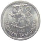 Финляндия. 1 марка 1968 г.