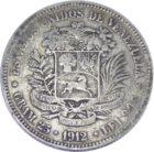 Венесуэла. 5 боливаров 1912 г.
