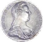 Австрия. 1 Талер 1780 г. (Рестрайк)