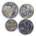 Кения. Набор монет 2018 г.