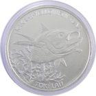 Токелау. 5 долларов 2014 г. «Желтопёрый тунец»