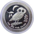 НИУЭ. 2 доллара 2018 г. «Афинская сова»