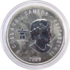 Канада.5 долларов 2009 г. «Олимпиада в Ванкувере»