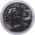 Великобритания. 2 фунта 2014 г. «Год лошади»