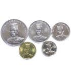 Бруней. Набор монет 2008-2011 гг.