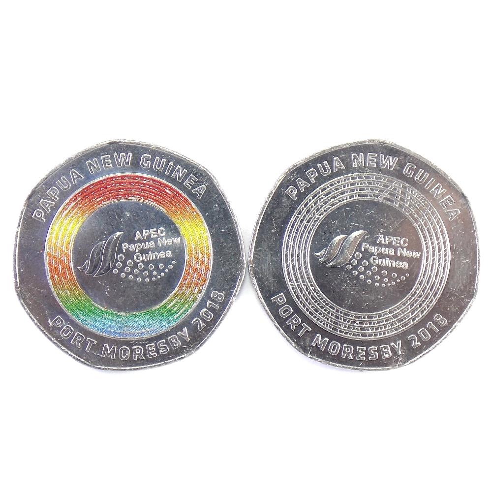 Папуа-Новая Гвинея. Набор монет 2018 г. (2 шт.)