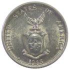 Филиппины. 20 сентаво 1945 г.