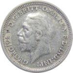 Великобритания. 3 пенса 1934 г.