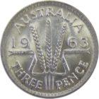 Австралия. 3 пенса 1963 г.