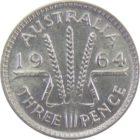 Австралия. 3 пенса 1964 г.