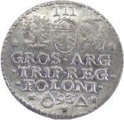 Речь Посполитая. 3 Гроша 1593 г. Сигизмунд III