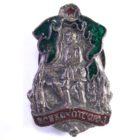 Знак «ВСЕКОХОТСОЮЗ Всесоюзный кооперативный охотничий союз» 20-е- 30 гг.