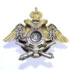 Знак об окончании Михайловского артиллерийского училища