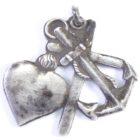 Кулон-подвеска «Вера, Надежда, Любовь»