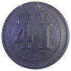 Пуговица малая. Франция. 41 полк .Крымская война. клеймо «paris c f»