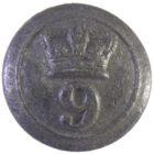 Пуговица. Англия. 9-й Восточно-Норфолкский полк. Крымская война.