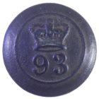 Пуговица малая. Англия. 93-й полк Шотландские горцы Сазерленда