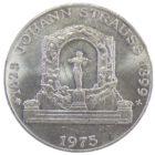 Австрия . 100 шиллингов 1975 г. «150 лет со дня рождения Иоганна Штрауса»