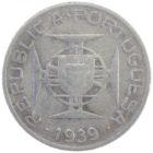 Сан-Томе и Принсипи. 2.5 эскудо 1939 г.