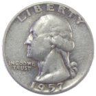 США. 25 центов 1957 г.
