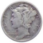 США. 10 центов 1944 г.