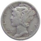 США. 10 центов 1945 г.