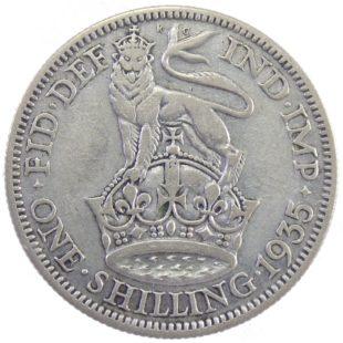 Великобритания. 1 шиллинг 1935 г.