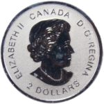 Канада. 2 доллара 2017 г. «Год Петуха»