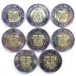 Панама. Набор монет 1 бальбоа 2019 г. «Всемирный день молодёжи»
