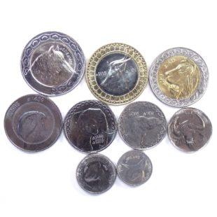 Алжир. Набор монет 1992-2019 гг.