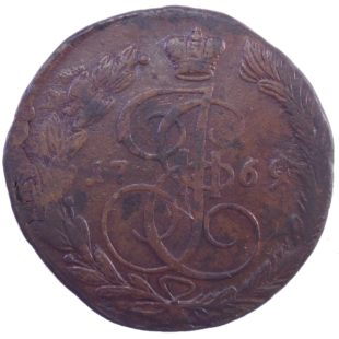 5 копеек 1769 г. ЕМ
