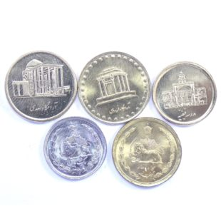 Иран. Набор монет
