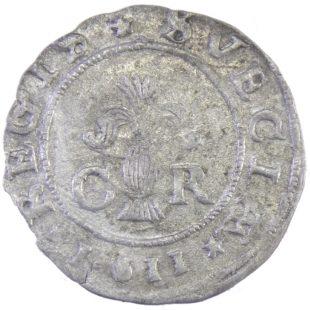 Швеция. Карл lX. 1 эре 1611 г.